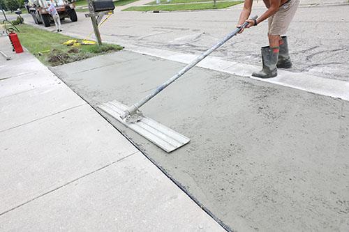 concrete driveway memphis tn